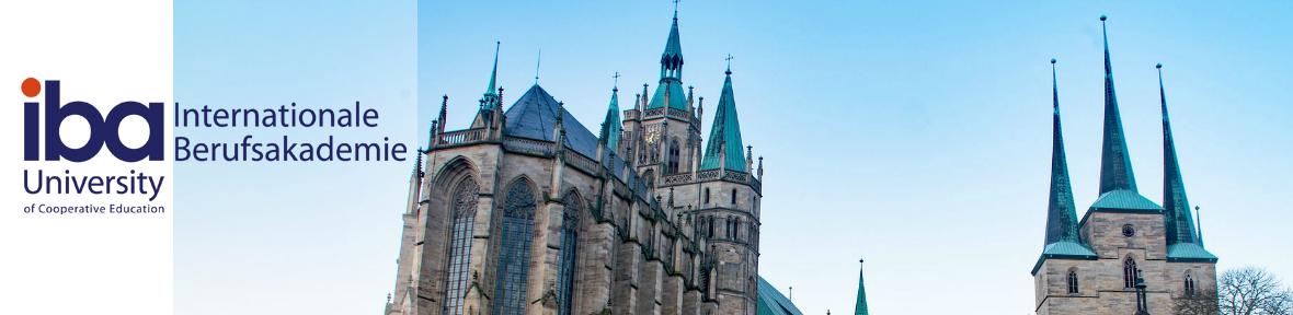 iba - Duales Bachelor Studium Erfurt - Willkommen